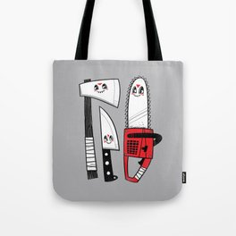 Happy Slasher Pals Tote Bag