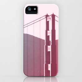 Golden Gate Dreams in San Francisco iPhone Case