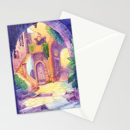 Arched Alleyways Stationery Cards