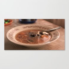 Sweet fruit soup on a dreamy afternoon Canvas Print