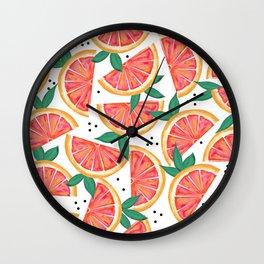Citrus Surprise #society6 #decor #buyart Wall Clock