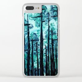Giants Of The Canopy Clear iPhone Case