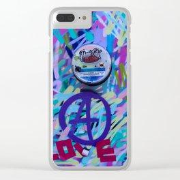 Love & Wynwood Clear iPhone Case