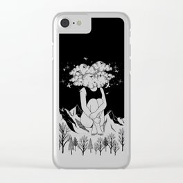 Across The Universe Clear iPhone Case