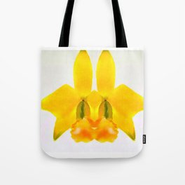 LAELIA PUMILA ABSTRACT BUNNY FACE Tote Bag