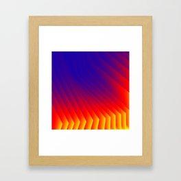 Color Fan Framed Art Print