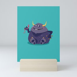 Monster Friends – Illustration for children, Kids art Mini Art Print