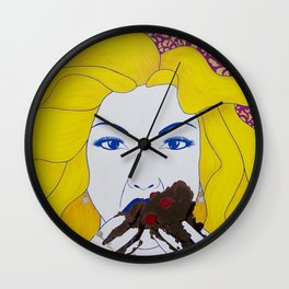I Want All The Cake Wall Clock
