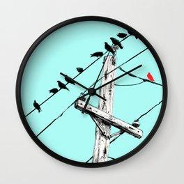 Brooke Figer - Assimilate Wall Clock