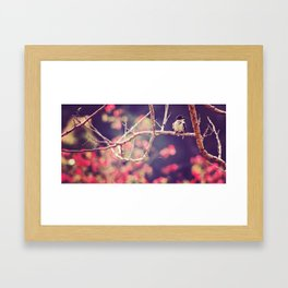 Little Bluey and his blossoms #1 Framed Art Print
