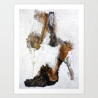 shoe Art Prints featuring shoe by woman