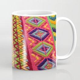 Colorful Guatemalan Alfombra Coffee Mug