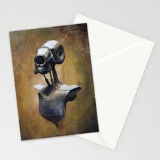 robot portait  Stationery Cards