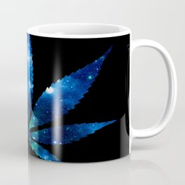 Weed High Times Ocean Blue Coffee Mug