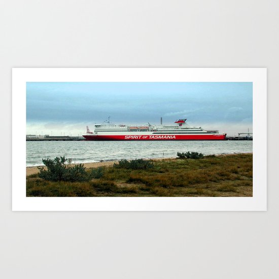 Spirit of Tasmania Art Print