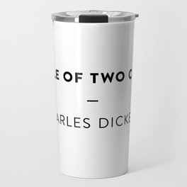 A Tale of Two Cities  —  Charles Dickens Travel Mug