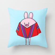 Poncho Throw Pillow