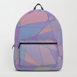 Shattered Purple & Pink Backpack