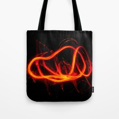 Tongues Of Fire Tote Bag