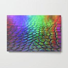 Rainbow Scales 2 Metal Print