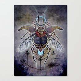 'Terra Elementorum' Canvas Print