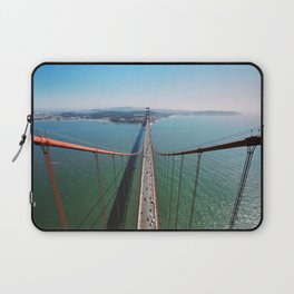 Above the Golden Gate Laptop Sleeve