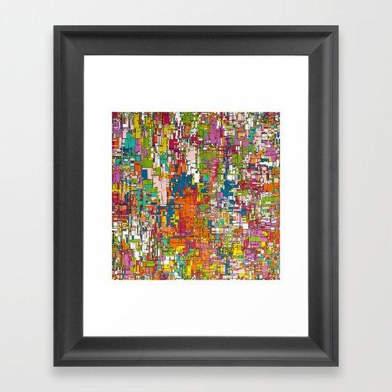 Verve Framed Art Print