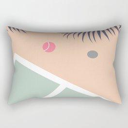 Tennis Court #society6 #decor #buyart Rectangular Pillow