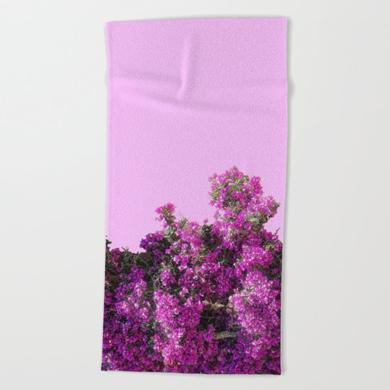 BOUGAINVILLEA (flowers collection) Beach Towel