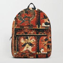 Chakrasamvara Vajravarahi Tantra Thangka Backpack
