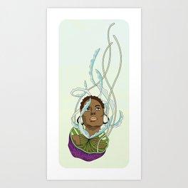 Jelly Miss  Art Print