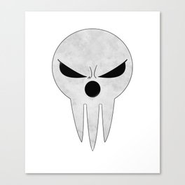 soul eater- lord death angry Canvas Print
