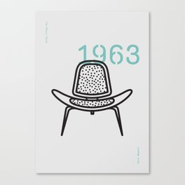 The Shell Chair Canvas Print