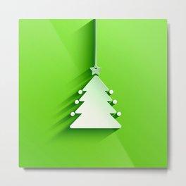 christmas tree i phone duvet cover tote bag Metal Print