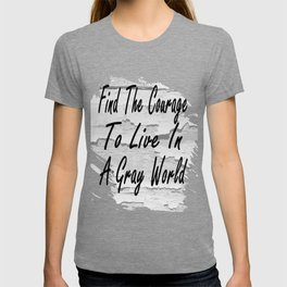 Gray World T-shirt