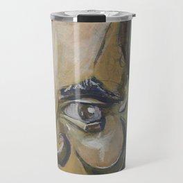 Mit Romney Abstract Travel Mug