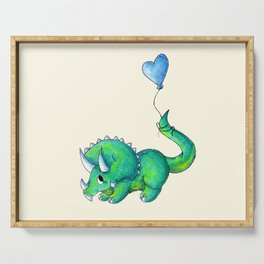 Balloon for Baby (Boy) Serving Tray