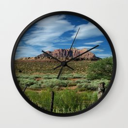 Grafton Fence Wall Clock