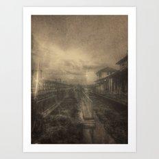 | Black Town | Art Print