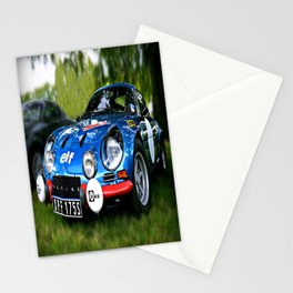 """The Alpine A110 """"Berlinette"""" Stationery Cards"""