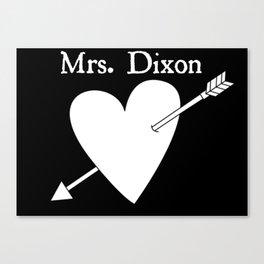 Mrs. Dixon Canvas Print