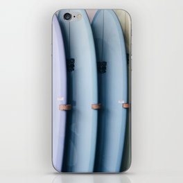 SURF'S UP / Los Angeles, California iPhone Skin