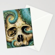 Tentacle skull Stationery Cards