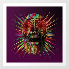 PzySkull Art Print