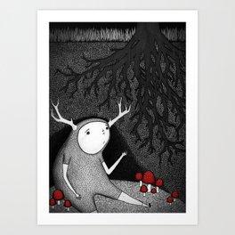 The Animal I am Art Print