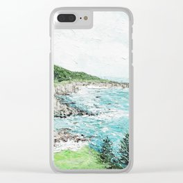 Timber Cove Clear iPhone Case