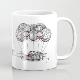 Steampunk Santa or Ferrous Father Christmas Coffee Mug