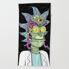 Monster Rick Beach Towel