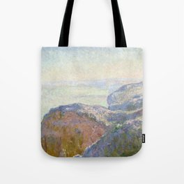 1897-Claude Monet-Val-Saint-Nicolas, near Dieppe (Morning)-25 x 39 Tote Bag