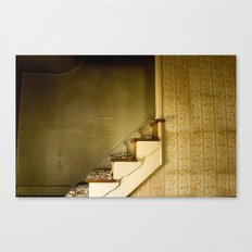 Stairs to? Canvas Print